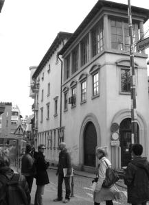 Даниел Серафимовски со студенти на студентски истражувачки пат во ЉубЉана