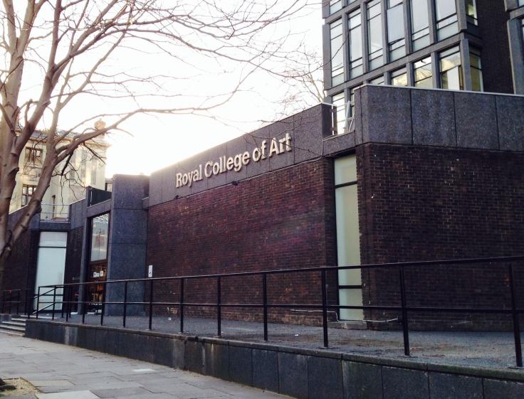 Royal College of Art, December 2013