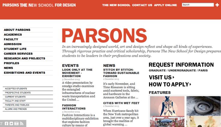 http://www.newschool.edu/parsons/